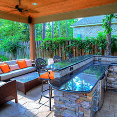 Outdoor Kitchen Gallery in Houston, The Woodlands, Magnolia, Spring TX Landscapi