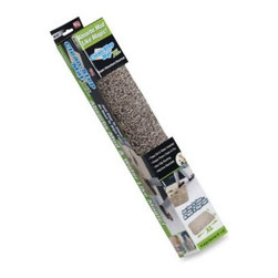 As Seen On Tv - 2-Foot x 3-Foot Clean Step Mat - Mat instantly absorbs dirt and water from muddy shoes and has a non-slip latex backing that will not slide or scuff floors. Just step on the mat to clean your shoes; there's no need to wipe.