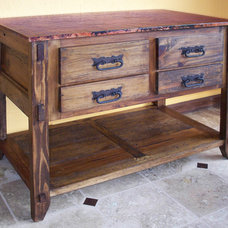 Traditional Bathroom Vanities And Sink Consoles by RusticSinks