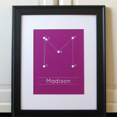modern kids decor by Etsy