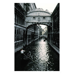 Custom Photo Factory - Gondola in Venice, Italy Canvas Wall Art - Gondola in Venice, Italy  Size: 20 Inches x 30 Inches . Ready to Hang on 1.5 Inch Thick Wooden Frame. 30 Day Money Back Guarantee. Made in America-Los Angeles, CA. High Quality, Archival Museum Grade Canvas. Will last 150 Plus Years Without Fading. High quality canvas art print using archival inks and museum grade canvas. Archival quality canvas print will last over 150 years without fading. Canvas reproduction comes in different sizes. Gallery-wrapped style: the entire print is wrapped around 1.5 inch thick wooden frame. We use the highest quality pine wood available. By purchasing this canvas art photo, you agree it's for personal use only and it's not for republication, re-transmission, reproduction or other use.