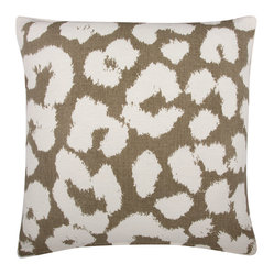 Thomas Paul Leopard Mushroom Pillow