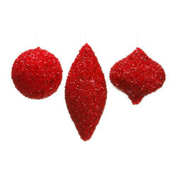Silk Plants Direct - Silk Plants Direct Sequin and Bead Ornament (Pack of 4) - Pack of 4. Silk Plants Direct specializes in manufacturing, design and supply of the most life-like, premium quality artificial plants, trees, flowers, arrangements, topiaries and containers for home, office and commercial use. Our Sequin and Bead Ornament includes the following: