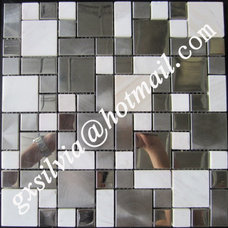 Contemporary Tile by MEITIAN  MOSAIC CO.,LTD
