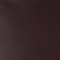 Chocolate Brown Distressed Leather Grain Upholstery Faux Leather By The Yard - This material is great for automotive, commercial and residential upholstery. It is very easy to clean with mild soap and water.
