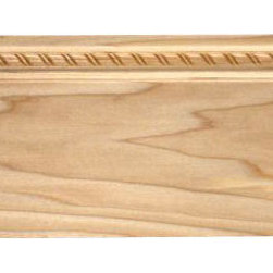 "Inviting Home - Portland Baseboard - Portland embossed wood baseboard 5-1/2""H x 11/16""P x 8'00""L 4 piece minimum order required Baseboard specifications: Outstanding quality baseboard molding profile milled from high grade kiln dried solid poplar wood. Ornamental design embossed into wood under intense heat and pressure creating a most popular classical designs. Baseboards sold unfinished and can be easily stained painted or glazed. Custom finishes available for molding orders over 500 ft. The installation of the baseboard should be treated the same manner as you would treat any wood molding. All molding should be kept in a clean and dry environment away from excessive moisture. Acclimate wooden baseboards for 5-7 days."