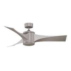 Fanimation - Fanimation Jennix Contemporary DC Motor Ceiling Fan X-GM3497DPF - The DC motor with The Jennix, by Fanimation, allows this fan to consume up to 70% less energy. The sleek lines of the blades available in metro gray make this three-bladed fan an exceptional piece to add to your contemporary decor. All Fanimation motors are protected by a limited lifetime warranty.
