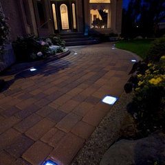 outdoor lighting by Solar Pavers of Oklahoma