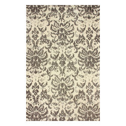 nuLOOM - Transitional 5' x 8' Sepia Machine Made Area Rug Damask BC61 - Made from the finest materials in the world and with the uttermost care, our rugs are a great addition to your home.