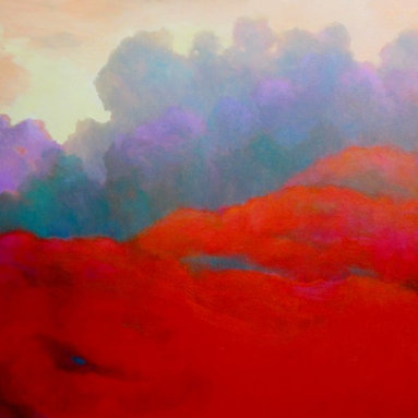 Luminous Landscapes / Red Field -