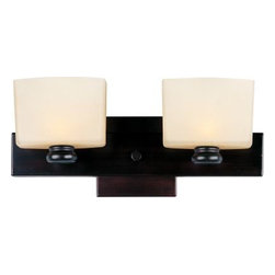 Maxim Lighting - Maxim Lighting 9002DWOI Essence 2-Light Bath Vanity In Oil Rubbed Bronze - Features