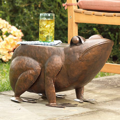 eclectic garden sculptures by Plow & Hearth