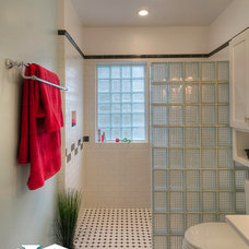 Midcentury Bathroom by Irons Brothers Construction Inc