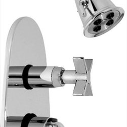 Altmans - Altmans TH1TH4PC Dulce Trim Shower Set - Valve order separately for use with 7002