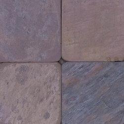 Multicolor 6 x 6 Tumbled - MFD Tile - Multicolor 6 x 6 Tumbled - MFD