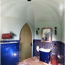 Mediterranean Bathroom by Endgrain Architecture