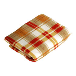 "Blancho Bedding - [Trendy Plaids - Khaki/Red/White] Soft Coral Fleece Throw Blanket (71""-79"") - The Coral Fleece Throw Blanket measures 71 by 79 inches. Whether you are adding the final touch to your bedroom or rec-room, these patterns will add a little whimsy to your decor. Machine wash and tumble dry for easy care. Will look and feel as good as new after multiple washings! This blanket adds a decorative touch to your decor at an exceptional value. Comfort, warmth and stylish designs. This throw blanket will make a fun additional to any room and are beautiful draped over a sofa, chair, bottom of your bed and handy to grab and snuggle up in when there is a chill in the air. They are the perfect gift for any occasion!"