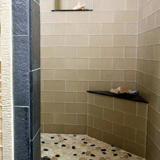 Asian Showers by Creative Tile, Fresno