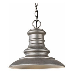 Murray Feiss Lighting - Murray Feiss Lighting-OL8904TRD-Redding Station - One Light Outdoor Hanging Lant - *Canopy Included.