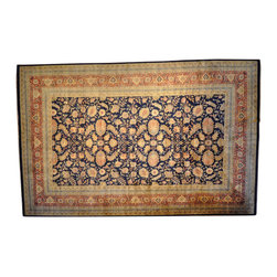 Mansion Size 19X29 Guinness Records 300Kpsi Sarouk Fereghan Oriental Rug SH1794 - Hand Knotted Persian Rugs From Iran are know to be the highest quality rugs from around the world.  The weavers from Iran are also known to be the most skilled.  There's many different persian designs and these designs are derived from the city that they're woven in.