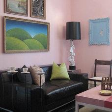 Eclectic Living Room Arts Salon 3