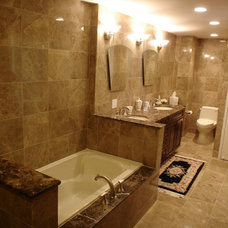 Traditional Bathroom by Design & Remodeling Specialists