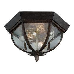 Sea Gull Lighting - Sea Gull Lighting 78136 Ardsley Court 2 Light Flush Mount Ceiling Fixture - Features: