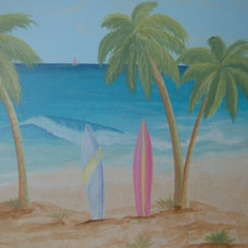 Tropical Kids by The Paint Diva