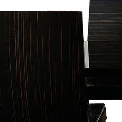 Rossetto - Nightfly Ebony Chair - Features: