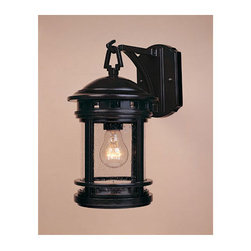 """Designers Fountain - Designers Fountain 2371-ORB 1 Light 7"""" Cast Aluminum Wall Lantern from the Hanov - Features:"""