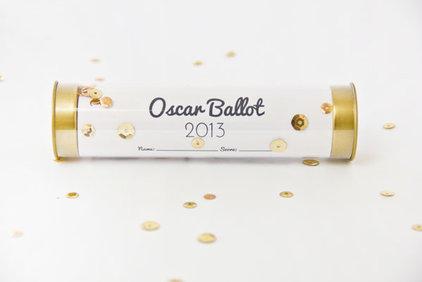 Contemporary  Oscar Party Ballot
