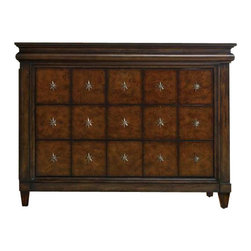 Hooker Furniture - Hooker Furniture Estate Block Front Chest in Mahogany - Hooker Furniture - Chests - 517485001 - Throughout the years antiques have been one of the greatest sources of furniture inspiration, offering character, timelessness and enduring appeal.