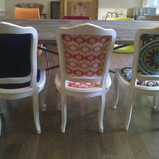 Eclectic Dining Chairs by L'Atelier Home