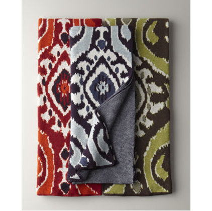 eclectic throws by Horchow