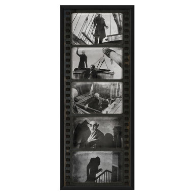 The Artwork Factory - 'Film Strip Nosfaratu' Print - Fangs a lot, film buff! This museum quality print from the classic vampire flick makes a monstrous style statement in your favorite setting.