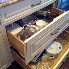 Traditional Cabinet And Drawer Organizers by Total Quality Home Builders, Inc.