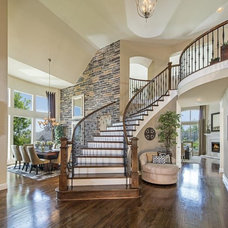 Contemporary Staircase by Novel Remodeling