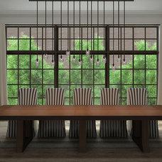 Contemporary Dining Room by Ubi Designworks (Interior 3D Viz)