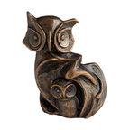 Cyan Design - In CaHoots Sculpture - In cahoots sculpture - bronze.
