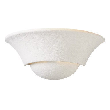 Quorum International - Quorum International 5620-66 Textured White Wall Sconce - Quorum International 5620-66 White Wall Sconce