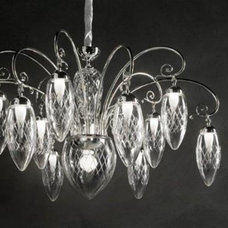 Contemporary Chandeliers by Art of Interiors