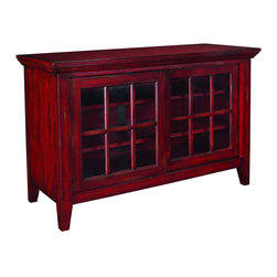 "Hammary - Hidden Treasures Entertainment Console - ""Hammary's Hidden Treasures collection is a fine assortment of unique accent pieces inspired by some of the greatest designs the world over. Each selection is rich in Old World icons and traditions."