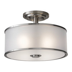 Murray Feiss - Casual Luxury 2-lt Indoor Semi-Flushmount - Casual Luxury 2-lt Indoor Semi-Flushmount