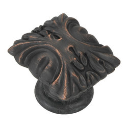 Belwith / Hickory - Belwith Hickory 1-5/16 In. Ithica Vintage Bronze Cabinet Knob P3430-VB Hardware - Classic lines, finishes and styles create a warm and comforting feel.  Usually 18th-century English, 19th-century neoclassic, French country and British Colonial revival.  Use of classic styling and symmetry creates a calm orderly look.. Product Name: 1-5/16 In. Ithica Vintage Bronze Cabinet KnobFinished: Vintage Bronze FinishIncluded: Mounting Hardware IncludedSize . Type: DiameterScrew Center to Center in Inches: Diamter: 1.3125Diamension Length in Inches: 1.13Diamension Width Inches: 1.31Diamension Height Inches: 1.07Weight in OZ: 3.68Product . Type: KnobsStyle: TraditionalFinish Name: Vintage BronzeAppearance . Finish: AntiquedColor Palette: Coppers/BronzeBasic Shape: Ornate