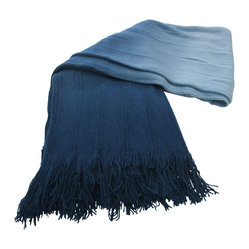 Valencia Throw, Denim