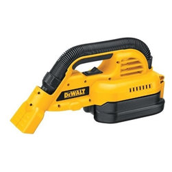 Black & Decker - Dewalt - Dc515B 18V Bare Vac - 18 VOLT 1/2 GAL. WET/DRY VAC - TOOL ONLY  Dual clean-up modes allow for debris clean up -  with either the front utility nozzle or-  heavy-duty extendable rubber hose  1/2 gallon tank with heavy-duty latch  Gore(TM) HEPA wet/dry filter traps 99.97% -  of dust at 0.3 microns  Large On/Off switch accessible with one hand  Vac tool only - battery/charger sold separately    DC515B 18V BARE VAC  Size:18  Volt  DESC:Tool Only