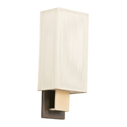 Kichler - Kichler Santiago One Light Champagne Wall Light - 10438CPBG - This One Light Wall Light is part of the Santiago Collection and has a Champagne Finish. It is Energy Efficient, and Title 24 Compliant.
