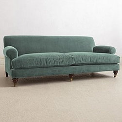 Anthropologie - Willoughby Sofa - *Hickory finish
