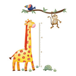 York Wallcoverings - Jungle Adventure Wall Growth Chart Set - Features: