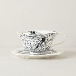 Forest Fiddler Cup and Saucer